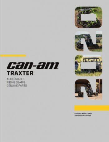 Accesorii TRAXTER CAN-AM 2020